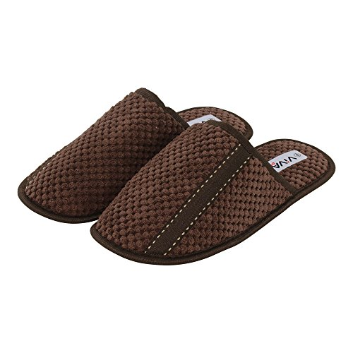 brandsseller - Zapatillas de estar por casa de Material Sintético para hombre marrón