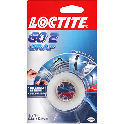 Loctite Go2 Clear Repair Wrap 1-Inch by 7.5-Foot Roll (1872161) - Henkel Wrap