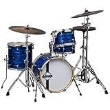 DDrum SE FLYER BP Speakeasy Flyer 4-Piece Bop Kit, Blue Pearl