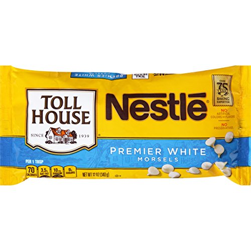 Nestle Tollhouse Premier White Morsels, 12 Ounce
