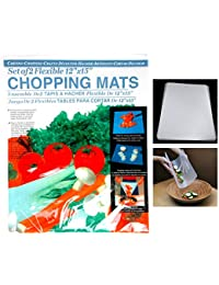 Win 2 Flexible Chopping Mats Kitchen Fruit Vegetable Plastic Cutting Board Camp New opportunity