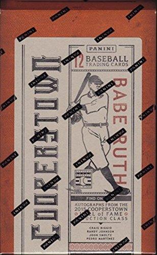 (2015 Panini Cooperstown Baseball HOBBY box (12 cards) )