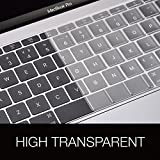 COOSKIN Newest Premium Ultra Thin TPU High Transparant Keyboard Cover Protector Skin for New MacBook Pro 13 inch Retina Display Model A1708 No touch Bar (2016 version, Oct Release, US Layout)