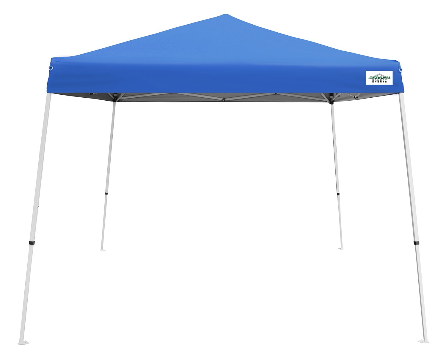 Amazon.com Caravan Canopy V-Series 2 Slant Leg - 10X10 Canopy Kit 64 Sq. Ft. of Shade Blue Garden u0026 Outdoor  sc 1 st  Amazon.com & Amazon.com: Caravan Canopy V-Series 2 Slant Leg - 10X10 Canopy Kit ...