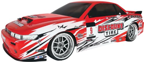 HPI Racing 109291 RTR E10 Drift Discount Tire Falken Nissan S13 ()