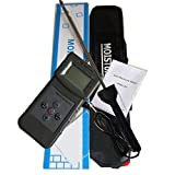 VETUS INSTRUMENTS PMS710 Portable Digital Soil and Cement Moisture Tester Meter 5 Percent to 90 Percent RH with LCD Display Soil Moisture Testing Gauge Measuring Range 0 to 50 Percent
