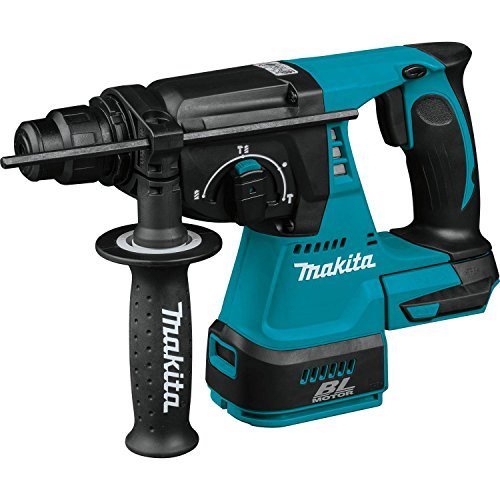 Makita XRH01Z 18V LXT Lithium-Ion Brushless Cordless 1-Inch Rotary Hammer Accepts SDS-PLUS Bits (Best 18v Sds Drill)