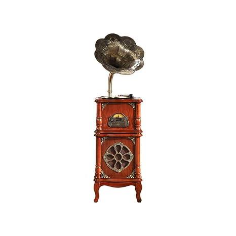 GOM Tocadiscos, Gramófono con 3 Velocidades 33/45/78 RPM Discos de ...