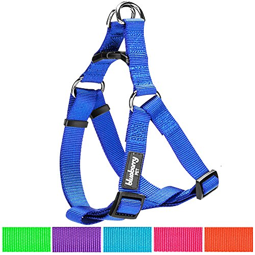 Blueberry Pet 7 Colors Step-in Classic Dog Harness, Chest Girth 19.5