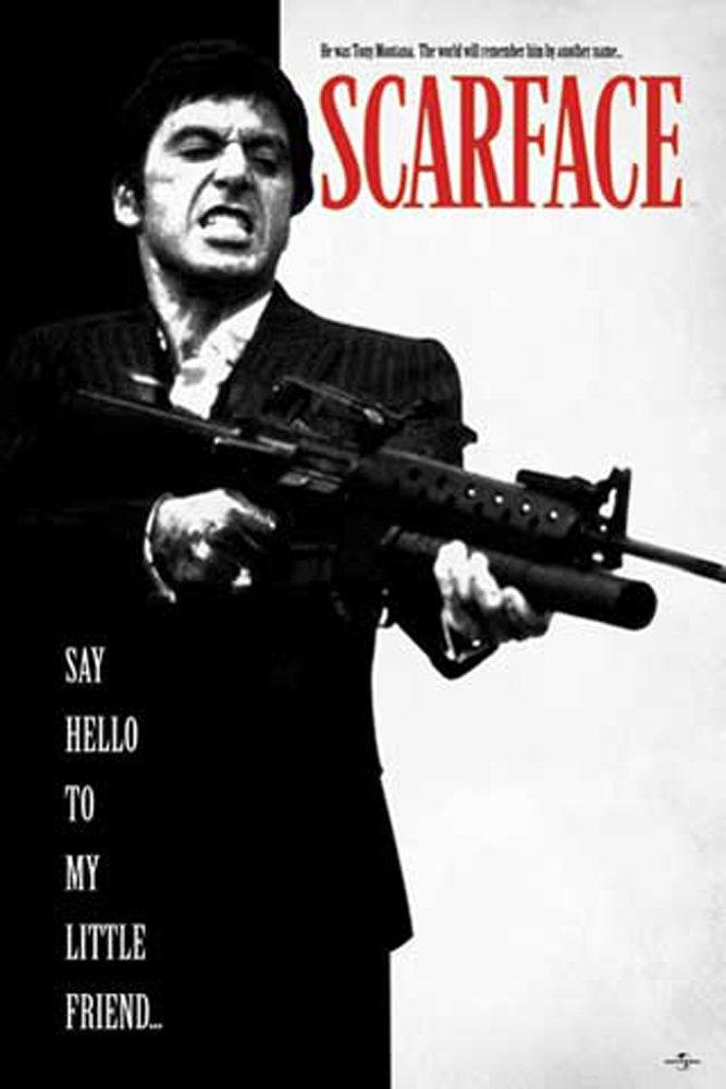 Amazon.de: empireposter - Scarface - Say Hello to my Friend - Größe ...