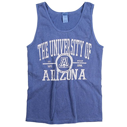 - Blue 84 Women's NCAA 100% Cotton Overdyed Tank Top (Arizona Wildcats, Large)