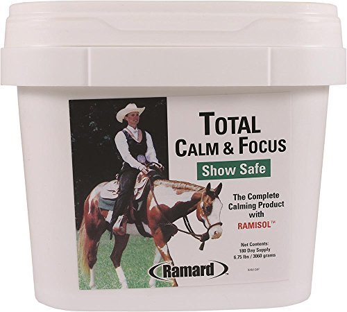 Ramard 079040 Total Calm & Focus Show Safe Supplement for horses , 6.75 lb/180 Day by Ramard by Prime Pet Deals - Code 1 (Image #1)