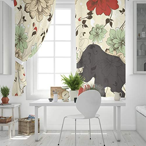 BABE MAPS Thermal Insulated Curtain