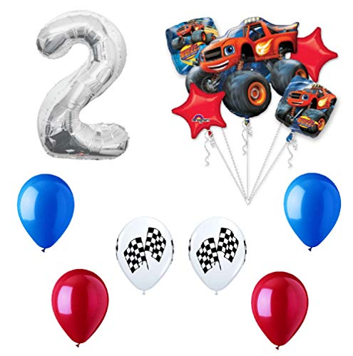 Anagram Blaze and the Monster Machines 2nd Birthday Balloon Decoration Kit by -