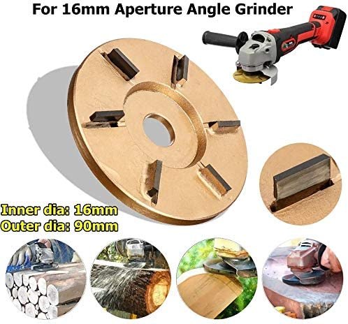 Wood Carving Disc Grinder Discs Angle Grinder Wood Carving Tool Woodworking Turbo Plane Power Attachment for Shaping, Grinding and Cutting
