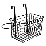 Storage Hanger Bedside Storage Rack for Men and Women College Dormitory Desk Rack Artifact Bedside Storage Hanging Basket,Black