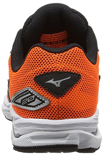 de Rider Silver Running 20 Garçon Wave Mizuno Black Orange Jr Chaussures Orange Entrainement Clownfish 5fw5XBq