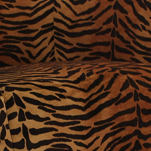 Parker Lane uch-nik-pon1 Safari Club Chair, Tiger Print - 4