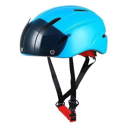 LAIABOR Casco de Bicicleta Ultralight Safety Gafas ...