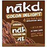 Nakd Cocoa Delight Bar, 4 Bars