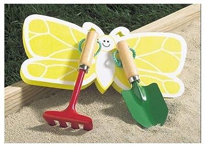 The Rumford Gardener Butterfly Kneeler with 2 Tools RK1017
