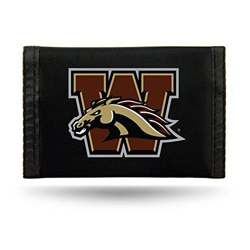 Rico Industries NCAA Western Michigan Broncos Nylon Trifold Wallet