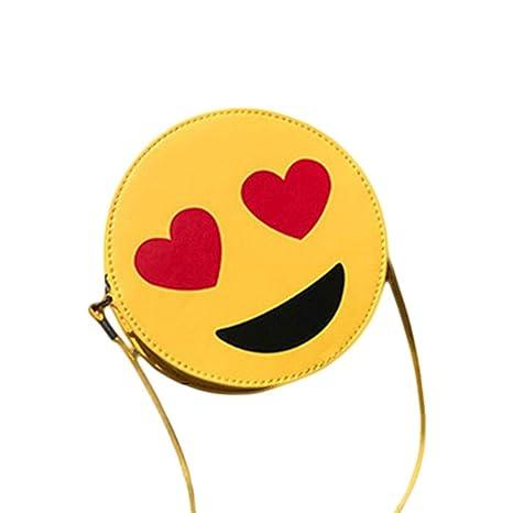 mollylover Emoji Bolsa de Cuerdas para Infantil, Emoji ...