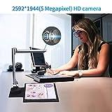 Document Camera for Teachers Laptop, 5 Mega-Pixel