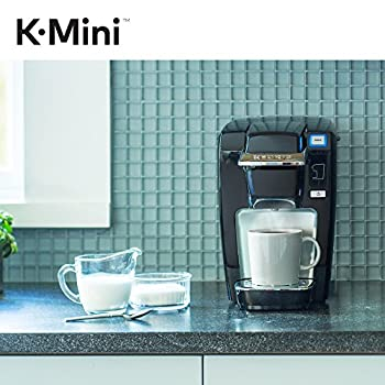 Keurig K-mini K15 Single-serve K-cup Pod Coffee Maker, Black 7
