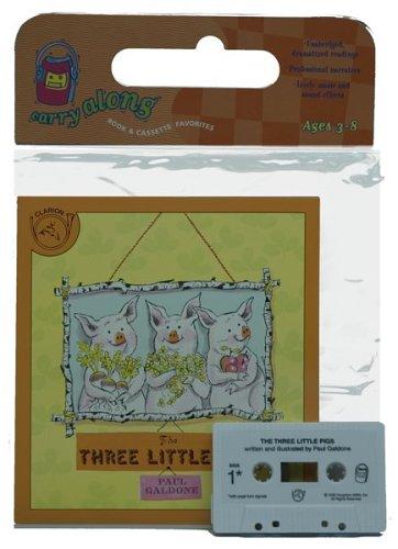 The Three Little Pigs Book & Cassette (Paul Galdone Classics)