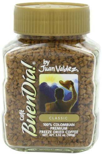 Buendia by Juan Valdez Classic 100% Colombian Freeze Dried Coffee, 3.52 oz. (Pack of 3) by Juan Valdez