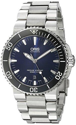 Oris Men's 'Aquis' Swiss Automatic Stainless Steel Diving