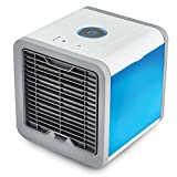 VYVERN Luxury Arctic Air Cooler Mini Air Conditioner Small Air Conditioning Fan Air Cooler Fan Cooling Fan Portable Strong Wind Summer (Single color light)