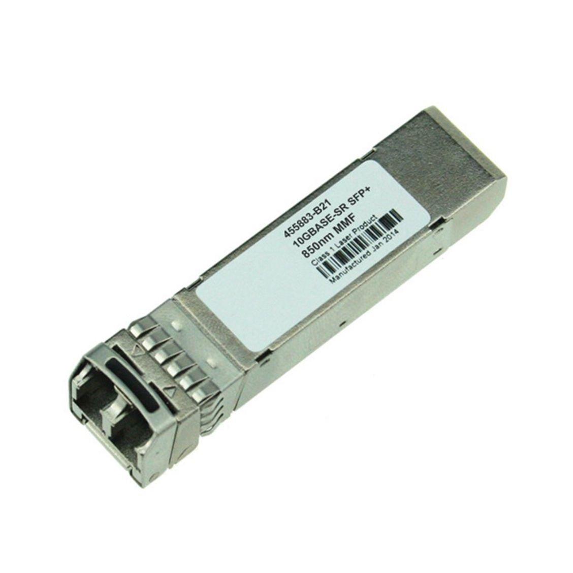 LODFIBER 455883-B21 Compatible 10GBASE-SR SFP+ 850nm 300m DOM Transceiver