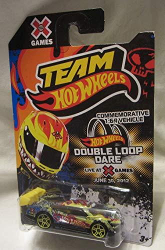 (Hot Wheels 2012 Team X Games Commemorative Super Blitzen Double Loop Dare Die Cast Car!)