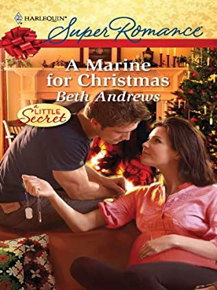 book cover of A Marine for Christmas