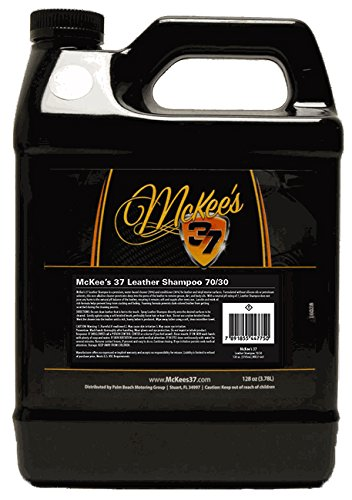661 Leather - McKee's 37 MK37-661 Leather Shampoo (70/30 Cleaner/Conditioner) 128 Fluid_Ounces