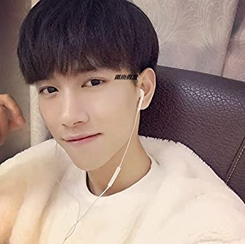 Amazon Com 2018 Men With Short Hair Wig Handsome Realistic Nature