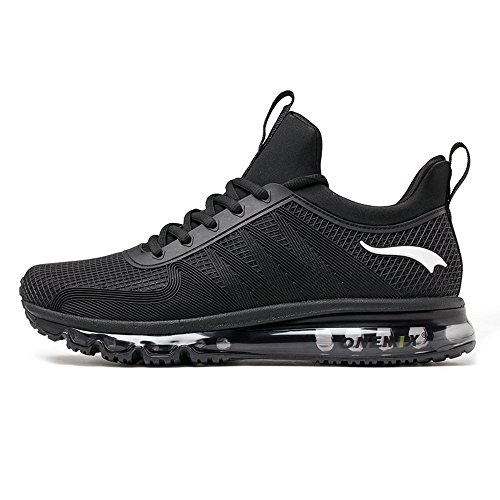 ONEMIX Men's Air Running Shoes One-Piece Damping Cushion Sneakers Black free shipping best seller q52HLEyyoY