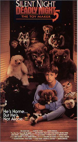 Silent Night Deadly Night 5: The Toy Maker [VHS]