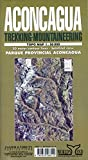 Aconcagua Map: Trekking & Mountaineering (Spanish Edition)