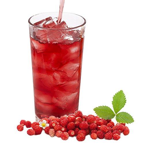 Walderdbeere Geschmack extrem ergiebiges Getränkepulver für Isotonisches Sportgetränk Energy-Drink ISO-Drink Elektrolytgetränk Wellnessdrink