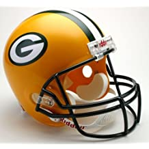 Green Bay Packers Riddell Full Size Deluxe Replica Football Helmet