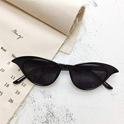 sol gafas caja de de gato sol ojo pequeña de NIFG gafas Moda retro tfqwq6