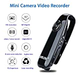 Boblov Mini Cámara Full HD 1080P Videocámara Cámara Espias Grabador de Audio Video Sensor de Movimiento (Mini Cámara 1080P)