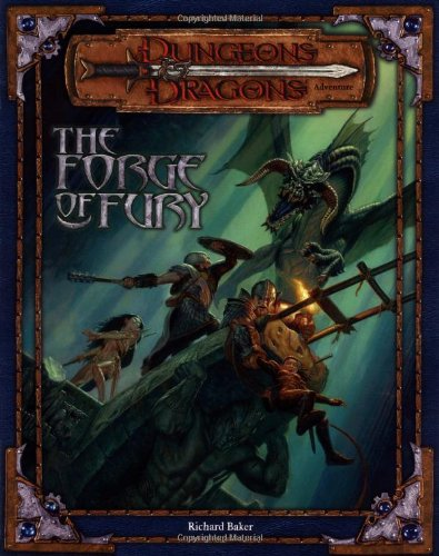 Download The Forge of Fury (Dungeons & Dragons d20 3.0 Fantasy Roleplaying Adventure) pdf epub