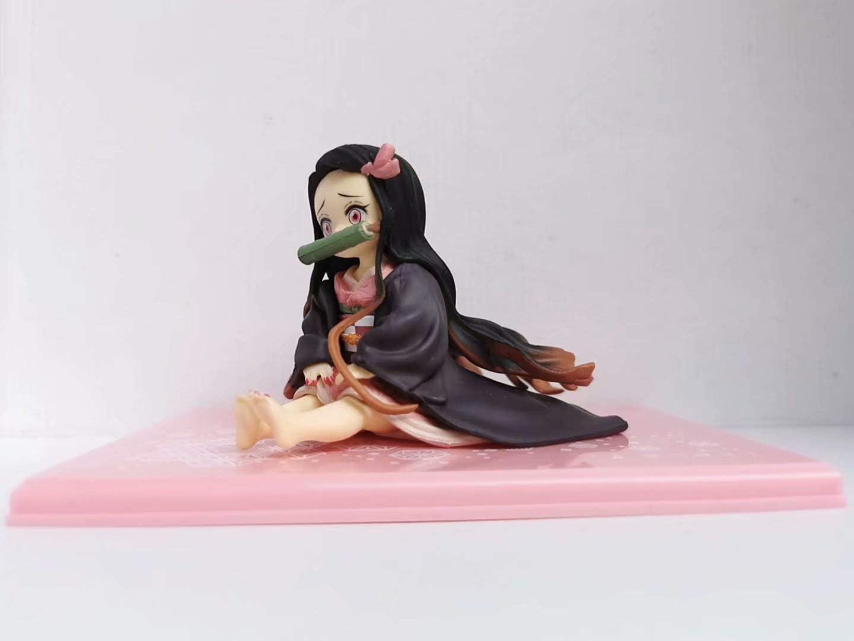 【未開封・限定】鬼滅の刃(きめつのやいば) てのひら禰豆子(ねずこ)ちゃん 約65mm PVC製 フィギュア