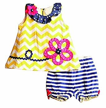 Amazon.com: Baby Girls Toddler Kid's Summer Clothes ...
