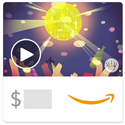 Large Product Image of Amazon eGift Card - New Year's Countdown Party (Animated) [Hallmark]