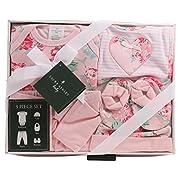 Laura Ashley 5 Piece Baby Essentials Gift Box Set, Queensbury Print